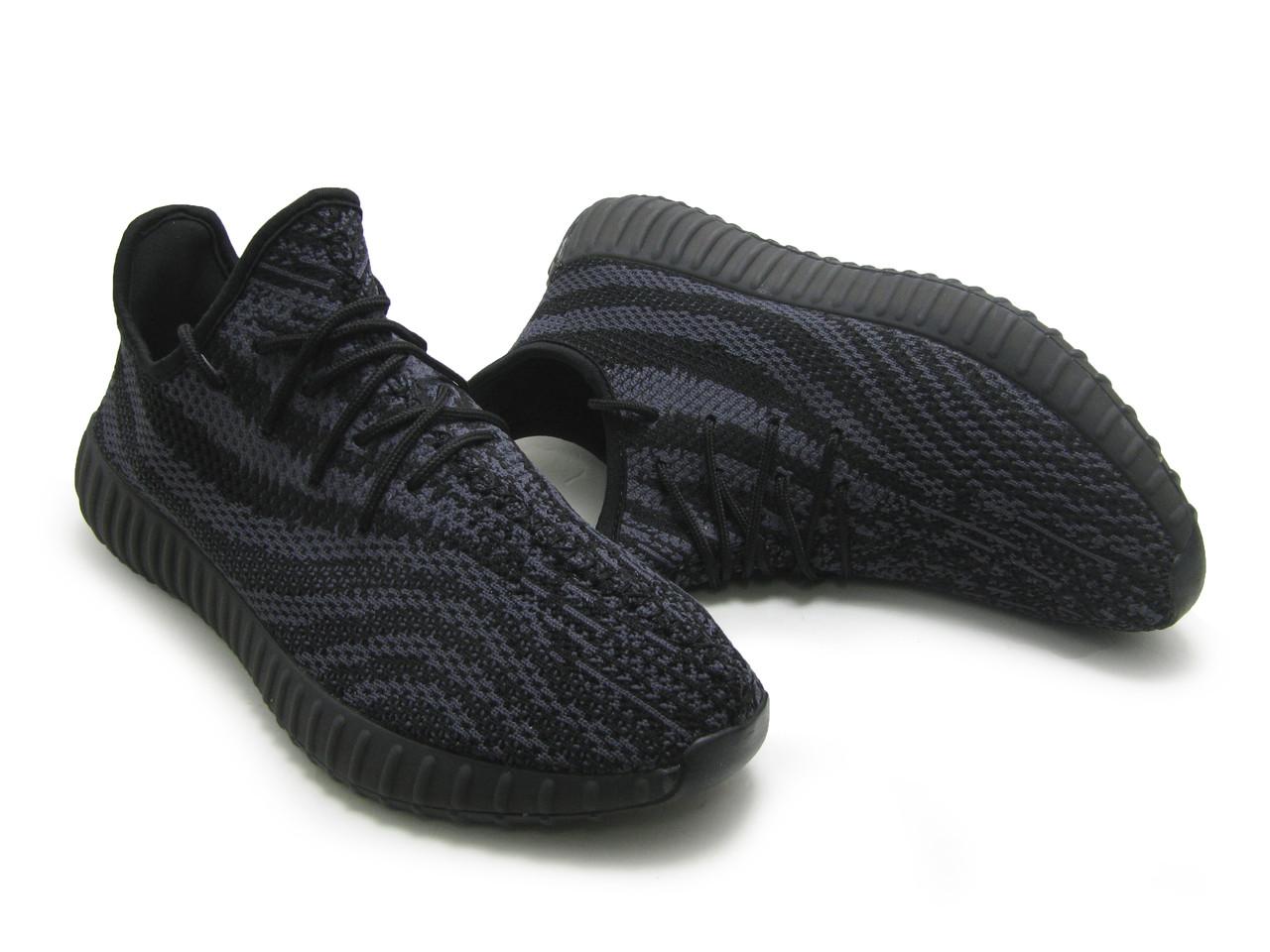 Кроссовки мужские Adidas YEEZY BOOST 550 Серо-черный