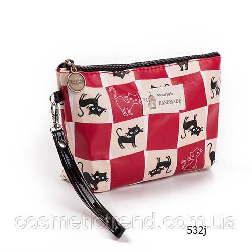 Косметичка женская для сумки NATURAL STYLE Hand Made с принтом 532j 21*13*6,5 см