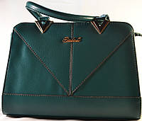 Зеленая каркасная сумка RIADA.L 621
