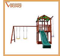 Деревянный игровой комплекс для детей