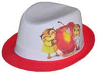 Шляпа детская челентанка фотопринт совы