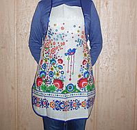 Фартук (передник)  кухонный лен