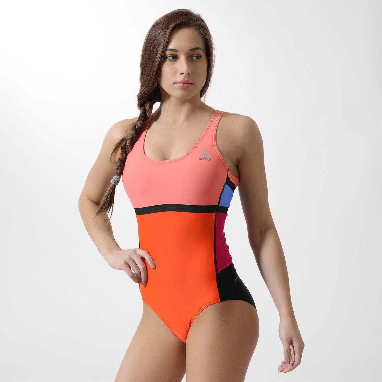 Женский купальник Reebok Colorblock (Артикул: BQ7426)