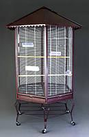 Вольер - клетка для мелких и средних попугаев, кенаров, бурундуков, белок и мелких приматов №11
