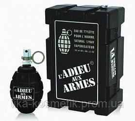 Мужская туалетная вода L`adieu Aux Armes Прощай оружие! 100мл