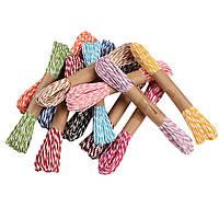 Верёвка из бумаги (плетеная веревка/шнур), 10м/моток
