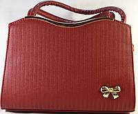 Красная каркасная сумка RIADA.L 667