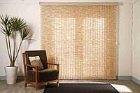Жалюзи из плетяного бамбука