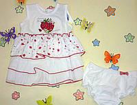 Платье Garden Baby Ароматная клубника, фото 1