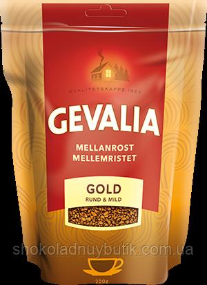 Кофе растворимый Gevalia Mellanrost Gold Rund & Mild, 200 г