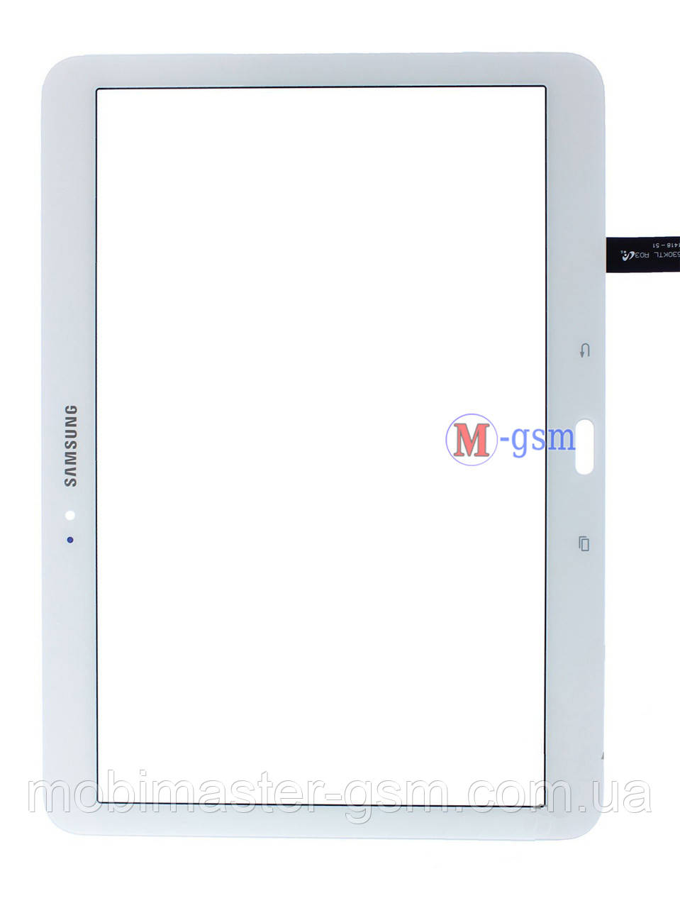 Тачскрин (сенсор) Samsung T530, T531, T535 белый