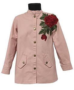 Пиджак для девочки Италия размер 4-14 лет