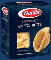 Макароны Barilla Orecchiette 500 гр