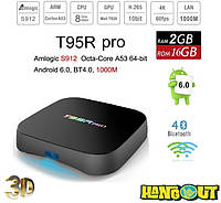 T95R Pro TV Box Amlogic S912, 2Gb+16Gb