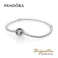 Pandora браслет ЦВЕТЕНИЕ #590744CZ серебро 925 Пандора оригинал