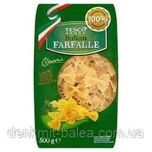 Макароны Бантики Tesco Farfalle 500 гр