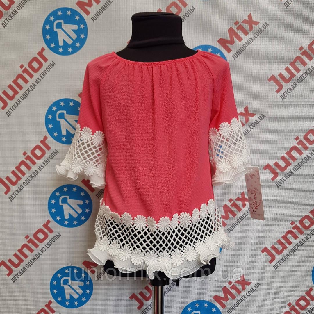 Модная цветная блузка на девочку Kids moda