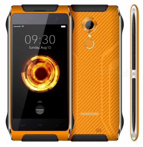 "Смартфон Homtom HT20 Pro 3/32Gb Orange, IP68, 13/5Мп, 8 ядер, 2sim, 3500mAh, экран 4.7"" IPS, 4G"
