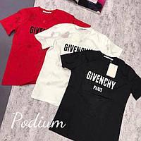 Модная и стильная футболка Givenchy ткань хлопок разные цвета, фото 1