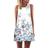 Платье летнее в цветочки СС7159
