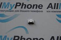 Разъем коннектора зарядки для мобильного телефона Nokia Lumia 710 Micro-usb