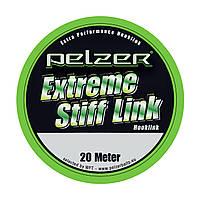 Поводочный материал Pelzer Extreme Stiff Link 35lbs 20m green