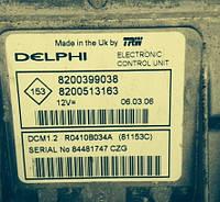 Блок управления двигателемNissanNote2005-2013  Delphi R0410B034A