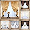 Комплект готовых штор      , фото 2