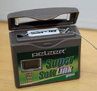 Поводочный материал Pelzer Super Soft Link 15lbs 20m green