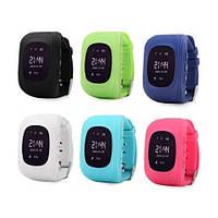 Детские умные часы с GPS трекером Q50 (Качественный OLED дисплей)+Настройка!