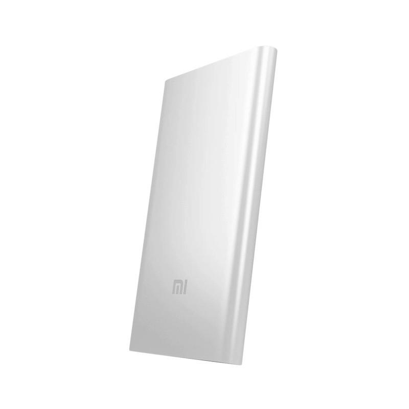 Универсальная батарея Xiaomi Mi Power Bank 5000 mAh Серебристая, ОРИГИНАЛ