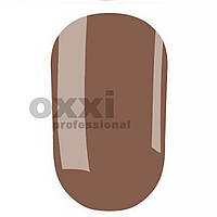 Гель лак Oxxi №186 (Серо коричневый эмаль)
