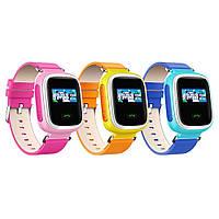 Детские умные часы с GPS трекером Q60 (Цветной дисплей ).