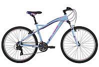 """Велосипед 26"""" Pride Stella 2.0 рама - 16"""" светло-голубой/малиновый/фиолетовый 2017"""