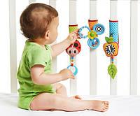 Липучки для детской кроватки и коляски «Веселая игра» арт. 1303605830 Tiny Love