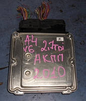 Блок управления двигателем ( ЭБУ )AudiA4 2.7tdi2007-20158k1907401k, MLB2 152, DS 0005, 6208 49101379 (АКПП