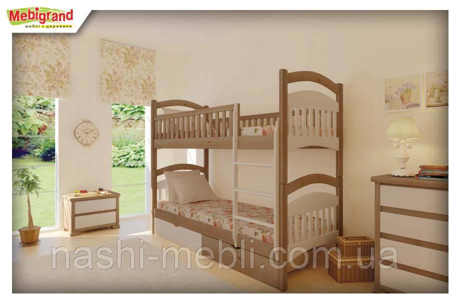 Двоярусне ліжко Жасмін МГ, фото 1