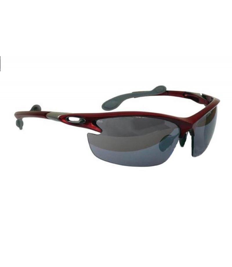 Спортивні захисні окуляри Longus SWING з червоною оправою 392051