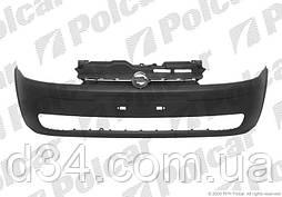 Бампер передній (чорний) Opel Corsa 00-03 / Combo 00-10
