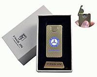 """Спиральная USB зажигалка """"Mercedes-Benz"""" №4794A-1, в подарочной коробке, двухсторонняя спираль, модный девайс"""
