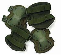 Захист тактичний Scoyco BC-4703-P наколінники налокітники колір зелений