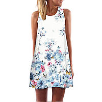 Платье с нежным принтом РМ7159