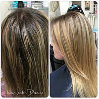 Колорування волосся  Салон-перукарня «Доміно» Львiв (Сихів)