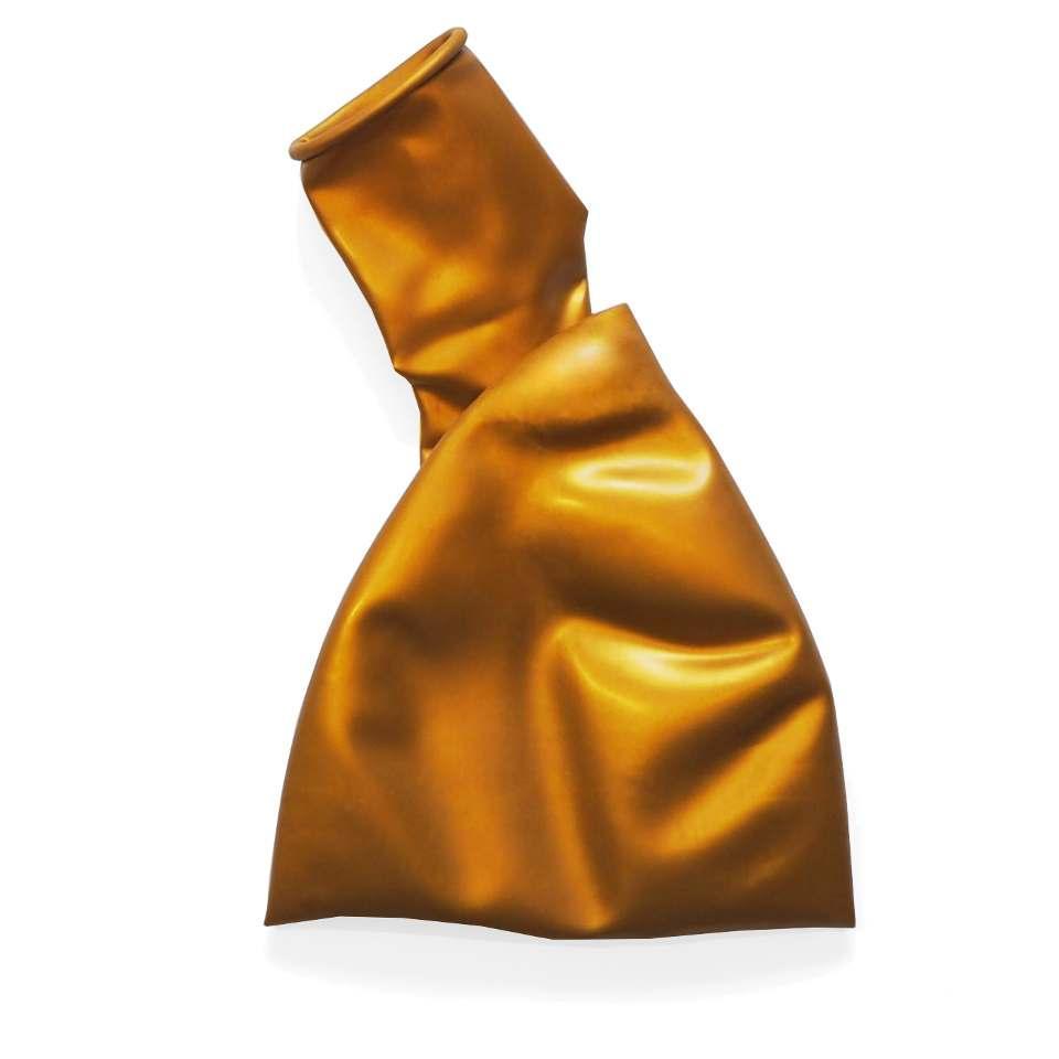 """Большие воздушные шары металлик золотой 36"""" (90 см) B350"""