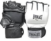 Перчатки для единоборств Everlast кожа EVLTH4015. Распродажа!