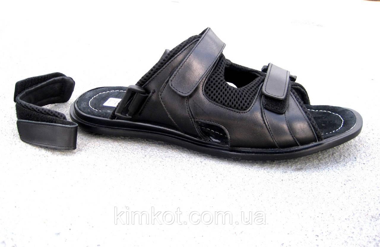 1cf5e07d3 Мужские кожаные сандалии - шлепанцы большие размеры 46-49 р-р - Интернет-