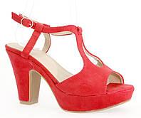 Женские босоножки 5606 RED