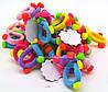 Резинка детская с украшениями разноцветная, фото 2
