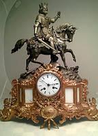 "Часы каминные ""король Ричард III"", кон.19 века, Франция"