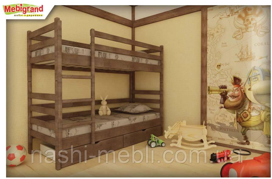 Двоярусне ліжко Соня МГ.